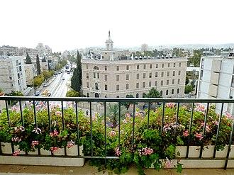 Rehavia - Jerusalem Terra Sancta College on Keren Hayesod Street, Rehavia