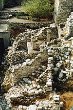 Archaeological ruins from King David's time