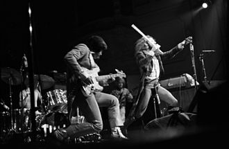 Jethro Tull (band) - Jethro Tull live in Hamburg in 1973