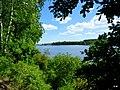 Jezioro Sępoleńskie w oddali zabudowania miasta - panoramio (4).jpg