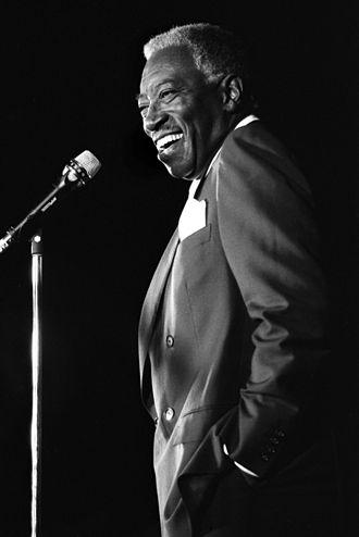 Joe Williams (jazz singer) - Joe Williams at the Palo Alto Jazz Festival in September 1986