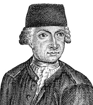 Johann Gottlob Lehmann (scientist) - Lehmann in the age of 42