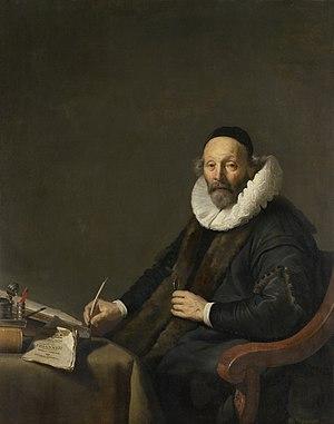 Johannes Wtenbogaert (1557-1644). Remonstrants predikant te 's-Gravenhage Rijksmuseum SK-C-1474