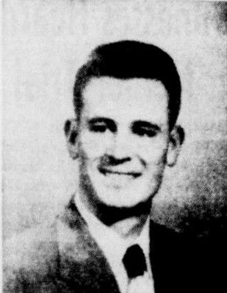 Joan Robinson Hill - John Hill in 1956