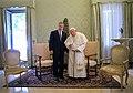 John Paul II and George Bush 2001.jpg