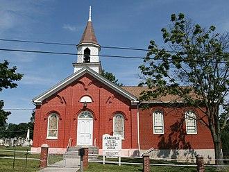 Johnsville, Maryland - The 1842 Johnsville Methodist Protestant (United Methodist) Church in Johnsville, Maryland.