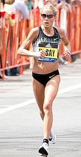 Jordan Hasay American long-distance runner