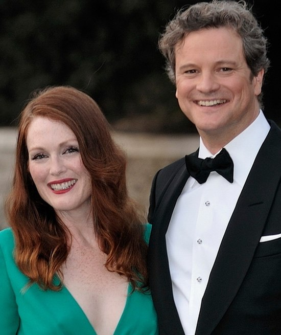 Julianne Moore and Colin Firth Venice 2009