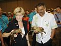 Julie Bishop and Koya 2014.jpg