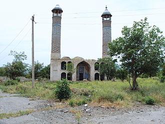 Agdam - Image: Juma Mosque Agdam 1