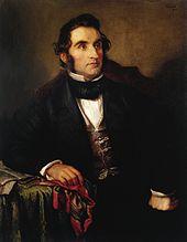 Justus von Liebig, by Wilhelm Trautschold, circa 1846 (Source: Wikimedia)