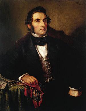 Justus von Liebig - Justus von Liebig, by Wilhelm Trautschold, c. 1846