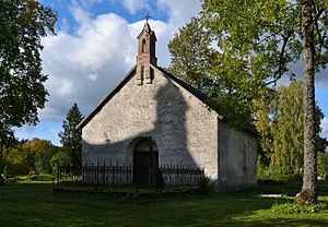 Juuru - Image: Juuru kirikaia kabel 1