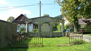 Ernst Heubach - Grave of the family of Ernst Heubach on the cemetery in Köppelsdorf