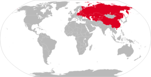 K-5 (missile) - Map with former K-5 operators in red