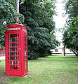 K6 Telephone box on green by Boosey's Lane - geograph.org.uk - 1394565.jpg