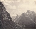 KITLV 100438 - Unknown - Mountains, probably in Kashmir in British India - Around 1870.tif
