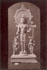 KITLV 87607 - Isidore van Kinsbergen - Hindu-Javanese sculpture at Telaga in Kuningan - Before 1900.tif