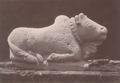 KITLV 87707 - Isidore van Kinsbergen - Sculpture of Nandi from the Dijeng plateau - Before 1900.tif