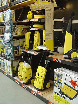 Kärcher - Image: Kaercher produkte