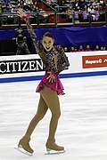 Kailani Craine at the 2016 Four Continents Championships - SP.jpg