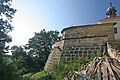 Kalvárie v Ostrém - boží hrob zezadu.JPG