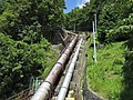 Kamanashigawa I power station penstock.jpg