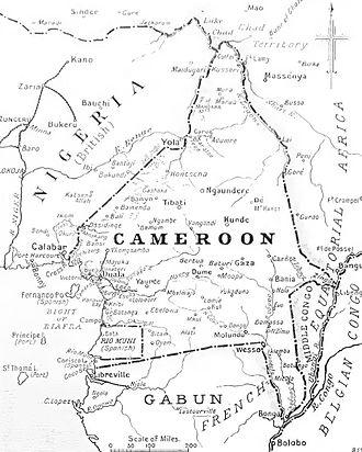 Kamerun Campaign - Kamerun, 1914