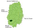 Kanegasaki in Iwate Prefecture.png