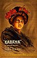 Karama, a Japanese romance, promotional poster, 1904.jpg