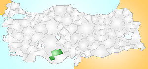 Karaman Turkey Provinces locator.jpg