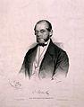 Karl, Freiherr von Rokitansky. Lithograph by A. Dauthage, 18 Wellcome V0005069.jpg
