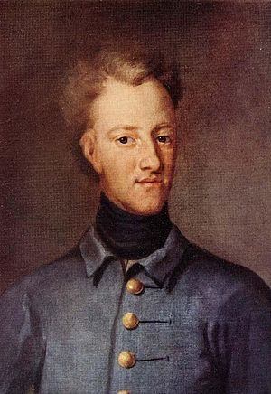 Charles XII of Sweden - Portrait by David Krafft, 1706