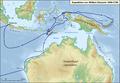 Karte Expedition William Dampier 1699.png