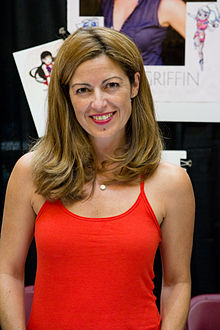 Katie Griffin at FanExpo 2012.jpg