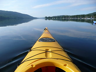 Coniston Water - Kayaker's view of the lake