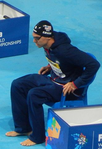 Anthony Ervin - Ervin at the 2015 World Championships