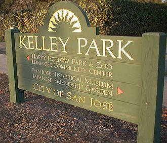 Kelley Park - Kelley Park welcome sign