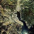 Kesennuma city center area Aerial photograph.1977.jpg