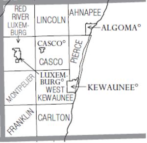 Kewaunee County, Wisconsin - Image: Kewaunee County