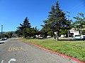 Key Route Boulevard at Brighton Avenue, July 2020.JPG