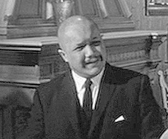 "Khigh Dhiegh - Khigh Dhiegh in trailer for ""The Manchurian Candidate"" (1962)"