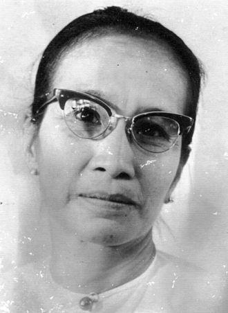 Khin Myo Chit - Khin Myo Chit in 1961