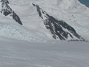 Kikish Crag - Kikish Crag from Willan Saddle.