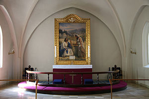 Kildevæld Church - Altar1949