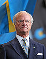 King Carl XVI Gustaf at National Day 2009 Cropped2.jpg