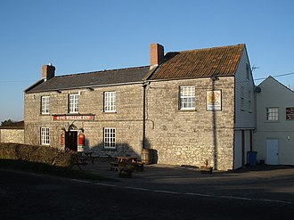 Catcott - Image: King William Inn, Catcott, Somerset geograph.org.uk 1105827