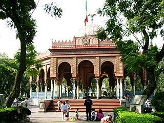 Neighborhood of Mexico City in Cuauhtémoc