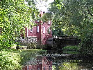 Kirbys Mill Historic grist mill in New Jersey, USA
