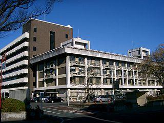 Kiryū, Gunma City in Kantō, Japan